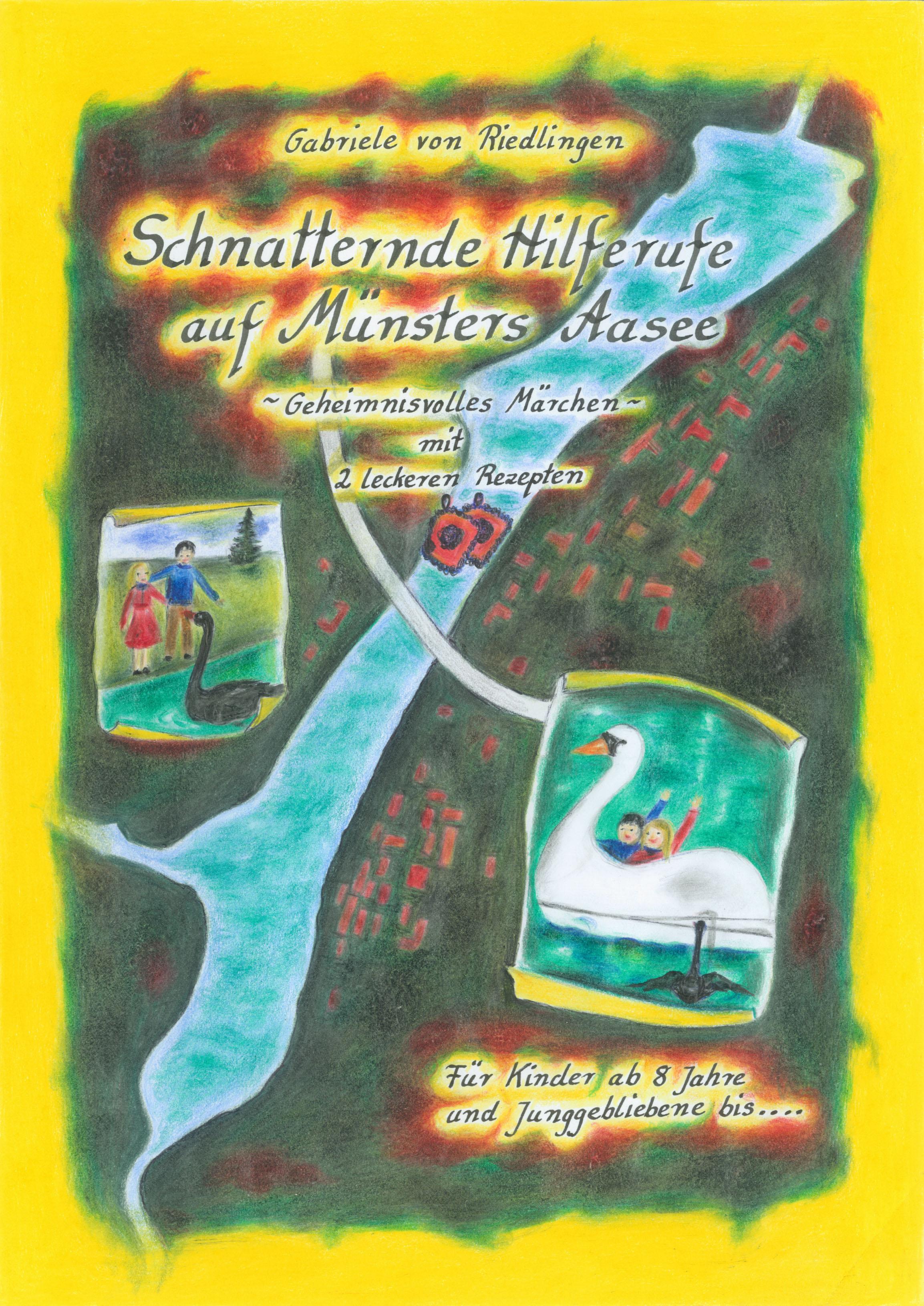Schnatternde Hilferufe auf Münsters Aasee